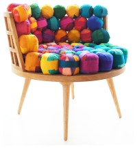 Recycled Silk Chair - Eclectic - Living Room Chairs ...