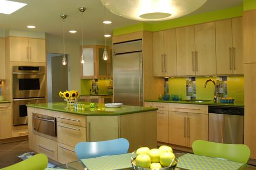 Zielona sypialnia my free form - Kitchen design by ken kelly ...