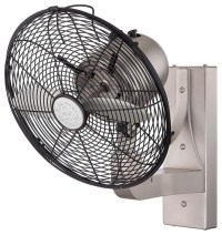 Wall Mounted Indoor/Outdoor Fan - Ceiling Fans - by Shades ...