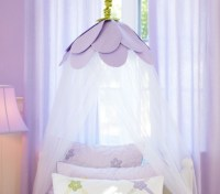 Lavender Petal Canopy - Traditional - Kids Bedding - by ...