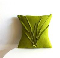 Grass Texture Pillow, Moss Green - Modern - Decorative ...
