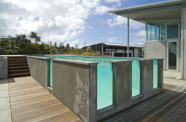 New Zealand Contemporary contemporary pool