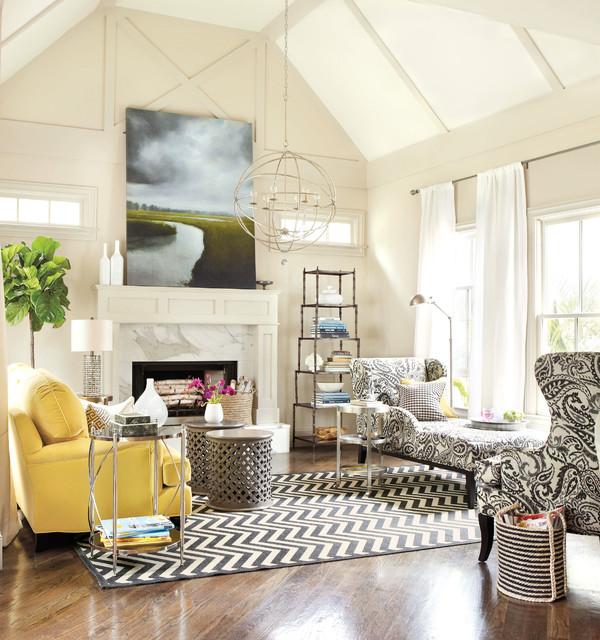 Real Simple Living Room