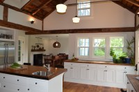 Vaulted Ceiling - Rustic - Kitchen - boston - by Nashawtuc ...