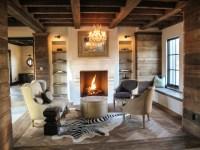 Reclaimed Barn Boards - Contemporary - Living Room ...