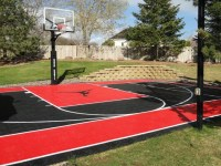 Backyard Landscaping With Basketball Court PDF