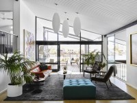 Monaco Renovation - Midcentury - Living Room - gold coast ...