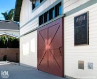 Sliding Red Barn Door - Traditional - Exterior - los ...