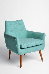 Modern Chair, Turquoise | Urban Outfitters - Modern ...