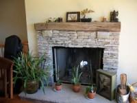 Asymmetrical fireplace redo - entire wall?, arch ...