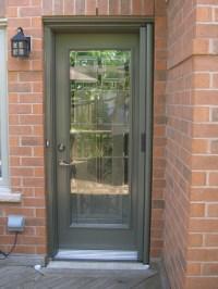 Entry Door Retractable Screens - Contemporary - Screen ...