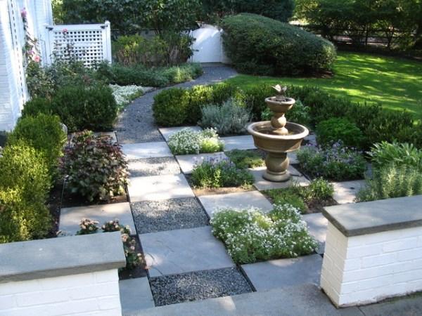informal garden - side yard