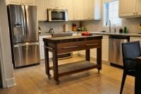 Walnut Butcher Block Server/Island - Modern - Kitchen ...