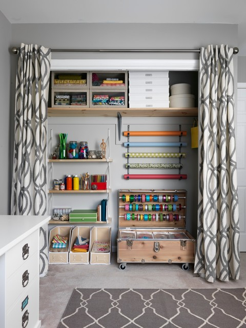 REAL SIMPLE Closet Makeover  Transitional  Closet  new