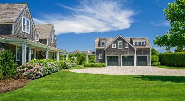 nantucket residence - beach style