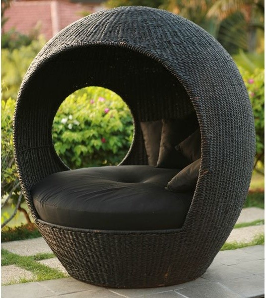 swivel chair egg chairman meaning melon outdoor wicker pod - lounge chairs chicago by home infatuation