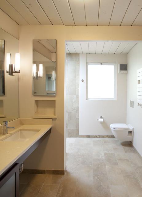 32 Small 1950s Eichler Expansion  Midcentury  Bathroom