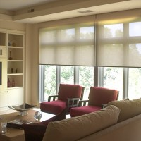 Roller Blinds and Shades - Traditional - Living Room ...
