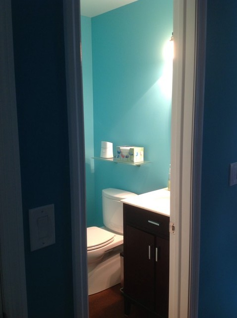 what is the best paint for kitchen cabinets ready made island your color windowless bathrooms?