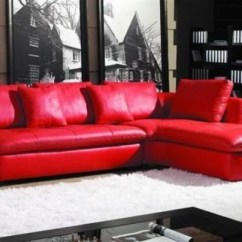 Contemporary Leather Sofas Sydney Ashley Furniture Linen Sofa Kais Red Sectional - Modern ...