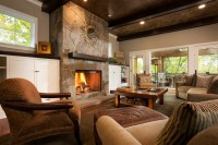 Comfortable Cottage Style - Traditional - Living Room ...