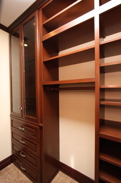 Custom Wood Closets  Traditional  Closet  orange county