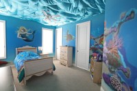 10 Bedrooms that look like they're under water