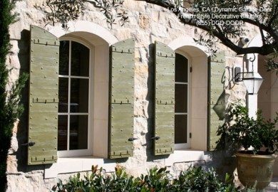 Exterior Outside Outdoor Window Shutters Decorative