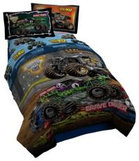 Monster Jam Twin Comforter - Contemporary - Kids Bedding ...