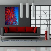 "Contemporary Abstract Painting for Modern Spaces ""AUTUMN ..."