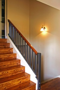 Split-Level Stairs After