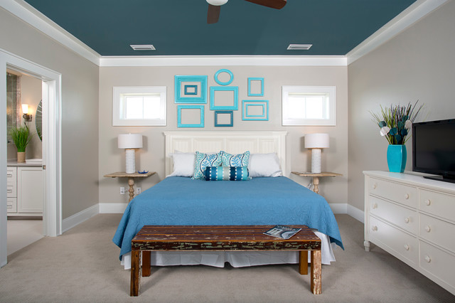 contemporary bedroom by Greg Riegler Photography