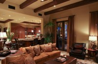 Schwab Luxury Homes and Interiors - Eclectic - Living Room ...