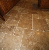 Travertine Tile Floor - Mediterranean - Wall And Floor ...