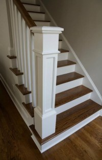 Whole House Renovation Project - Traditional - Staircase ...