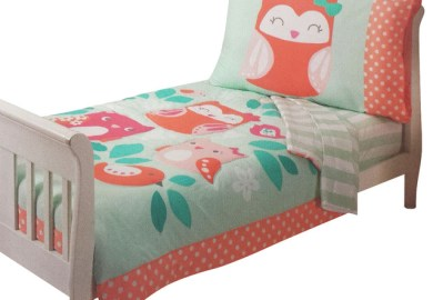 Owl Toddler Bedding