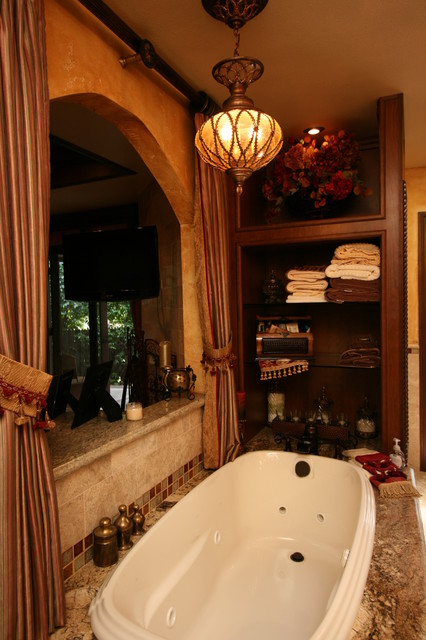 kitchen remodeling orange county large window treatments tuscan master bath - traditional bathroom other metro ...