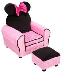Disney Minnie Mouse Chair & Ottoman - Contemporary - Kids ...
