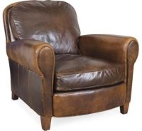 Leather Chair - Traditional - Armchairs And Accent Chairs ...