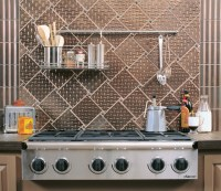 Industrial Kitchen Backsplash - Industrial - Kitchen - san ...