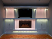 LED Entertainment Center and Fireplace Accent Lighting ...
