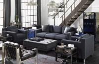 Men's Living Room contemporary-living-room