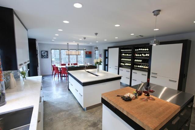 Tuxedo Kitchen  Contemporary  Kitchen  philadelphia