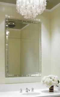 Kim Powder Room Mirror - Modern - Wall Mirrors - phoenix ...
