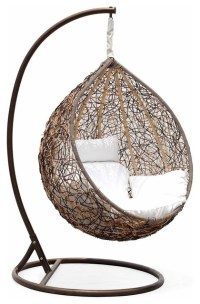 Trully Outdoor Wicker Swing Chair, The Great Hammocks ...