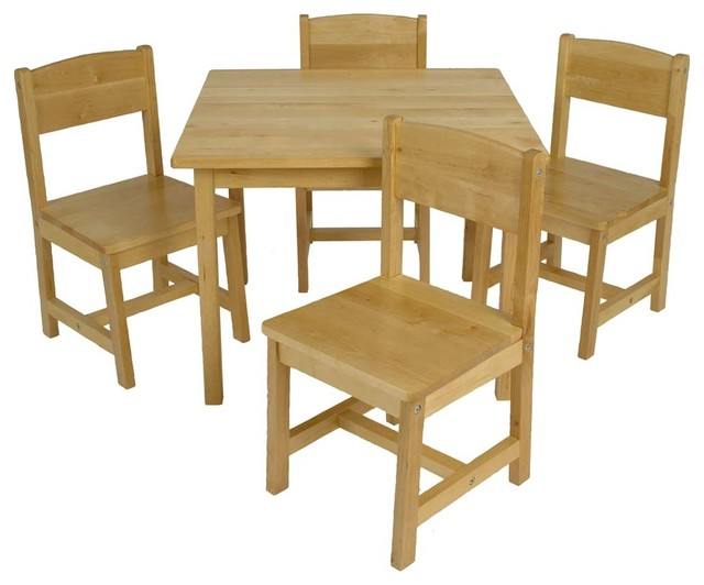 Tino Farmhouse Table W/Chairs by Kidkraft