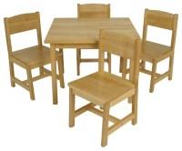 Tino Farmhouse Table W/Chairs by Kidkraft - Modern - Kids ...