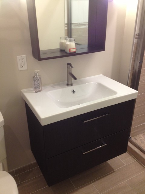 Bathroom expansion and remodel Madison NJ  Modern  new york  by Lowes of Union New Jersey