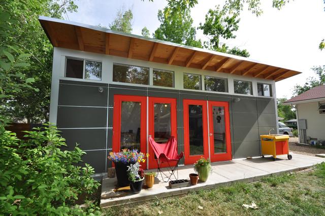 Garden Sheds Denver Storage Shed Studio Modern Spaces Throughout