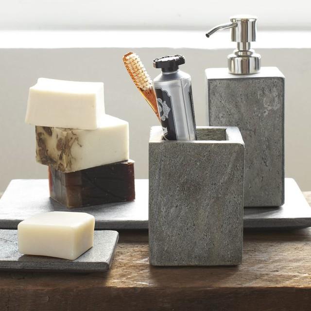 Slate Bath Accessories - Modern - Bathroom Accessories ...